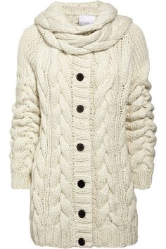 chunky cable knits