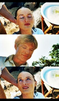"""Robert Redford and Meryl Streep in """"Out of Africa"""" Robert Redford, Meryl Streep, I Movie, Movie Stars, Finch Hatton, Burt Reynolds, Barack Obama, In And Out Movie, Sundance Film Festival"""