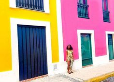 The colors of San Juan, PR..@theufuoma by (upintheairlife). blacktravelistas #blacktravelmovement #blacktravel #blackgirlmagic #blackmentraveltoo #hardlyhome #lifestyle #soulsociety #blackgirlstraveltoo #upintheairlife #instapassport #travelista #luxurytravel #travelgram #blacktravelfeed #wegotoo #soultravel #wanderlusting #travel #cocoatravelersintl #travelnoire #travelisthenewclub #jetsettingchick #blackgirlstravel #blackandabroad #melaninmajority #luxurytraveler #blackmentravel #igtravel