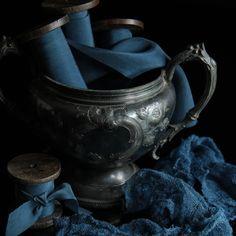 Sapphire {indigo}. Silk & Willow