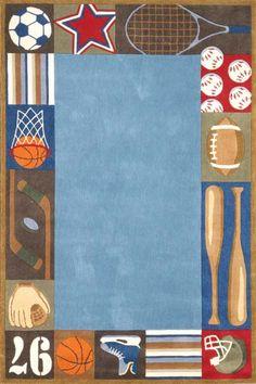 sports rug