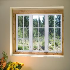 Newpro Picture Window With Side Casement Windows Shown