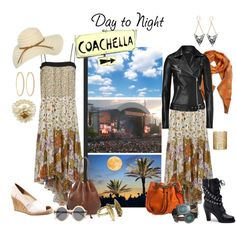 Day to Night:, Coachella, created by gaylagirl on Polyvore