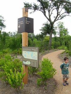 Nature-friendly signage. Visit the slowottawa.ca boards http://www.pinterest.com/slowottawa/