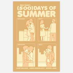 500 Days Of Summer Print 16x24 now featured on Fab. $44.00 I NEED THIS!!!!!!!!!