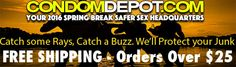 Shop online for Spring Break and save at CondomDepot.com!