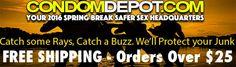 Shop online for Spring Break and save at CondomDepot.com!