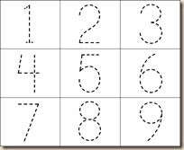 number tracing