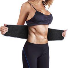 INTEY Waist Trimmer Sweat Belt for Fast Weight Loss, Neoprene Waist Trainer for Men & Women Waist Trainer For Men, Ab Belt, Leg Training, Workout Accessories, Fitness Accessories, Tummy Tucks, Hourglass Figure, Slim Waist, Trainers