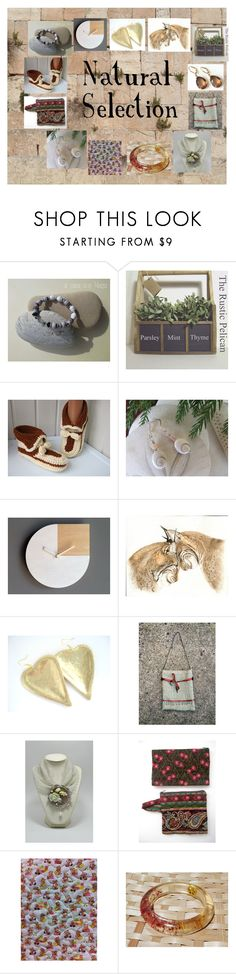 """""""Natural Selection: Handmade & Vintage Gifts"""" by paulinemcewen on Polyvore featuring Andy Warhol, rustic and vintage"""