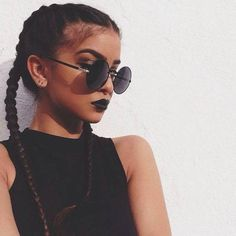 wanna give your hair a new look ? Braided hairstyles is a good choice for you. Here you will find some super sexy Braided hairstyles, Find the best one for you, half up half down pigtails Boxer Braids Hairstyles, French Braid Hairstyles, Summer Hairstyles, French Braids, Hairstyles 2018, Hipster Hairstyles, Black Hairstyles, Concert Hairstyles, Dutch Braids