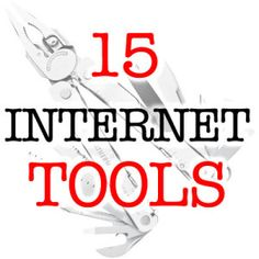 15 tools that may come in handy in your online life