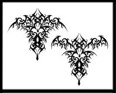 Gothic Bat Tattoo is listed (or ranked) 12 on the list 25 Cool Gothic Tattoo Ide. - New Tattoo Trend Filigree Tattoo, Gothic Tattoo, Forarm Tattoos, New Tattoos, Tatoos, Tribal Rose Tattoos, Heart Tat, Sacred Geometry Tattoo, Cool Tattoos For Guys