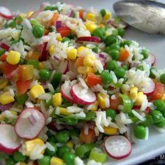 Waldorf Salat, Rice Dishes, Cobb Salad, Salad Recipes, Buffet, Vegetarian Recipes, Grilling, Paleo, Food And Drink