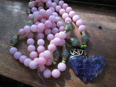 Renew Your Life Meditation mala by MagickAlive on Etsy, $75.00