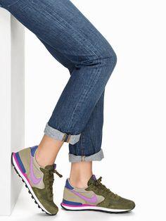 Nike Internationalist - Nike - Olive - Everyday Shoes - Shoes - Women - Nelly.