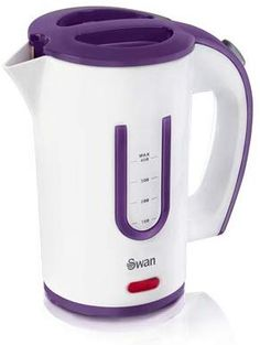 UK Portable Electric Kettle Water Heater Mug Cup Travel Stainless Steel 400ML