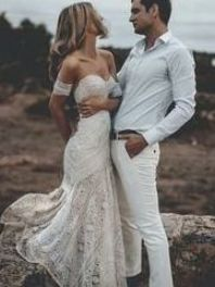 Sweetheart Lace Mermaid Wedding Dresses Online, Cheap Lace Bridal Dresses, WD460 How To Dress For A Wedding, Lace Beach Wedding Dress, Classic Wedding Dress, Backless Wedding, Modest Wedding Dresses, Cheap Wedding Dress, Bridal Lace, Bridal Dresses, Wedding Gowns