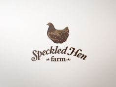 Speckled Hen Farm Identity designed by Derek Higaki. Connect with them on Dribbble; the global community for designers and creative professionals. Hen Farm, Branding Design, Logo Design, Graphic Design, Farm Business, Farm Logo, Coffee Logo, Great Logos, Logo Food