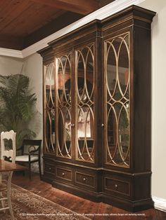 Setting Standards: New Standard Custom Pieces Offer Countless Choices, Style Options-- East Hampton Display Cabinet. www.habershamhome.com