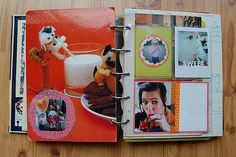 Making Project Life and Smashbooking Your Own  from binder bound books.