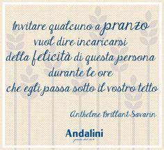 Durante le feste è tradizione avere ospiti a pranzo. Li state rendendo felici con la pasta #Andalini?  www.andalini.it