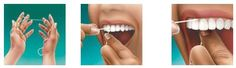 Facts about flossing and how to most effectively floss your teeth.