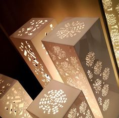 Fanous set table lamps by Sandra Macaron.