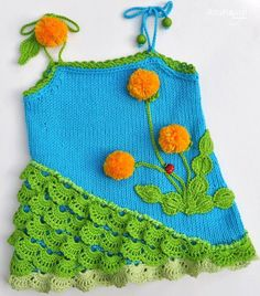 Crochetcetera and such: very cute creations to inspire all ... the dresses have recipe!