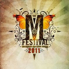 Festival poster Festival Themed Party, Festival Wedding, Music Festival Logos, Festival Posters, Graphic Design Inspiration, Design Ideas, Poster On, Party Themes, Wedding Decorations