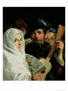 Una pareja elegante de Madrid, Lorenzo Tiepolo