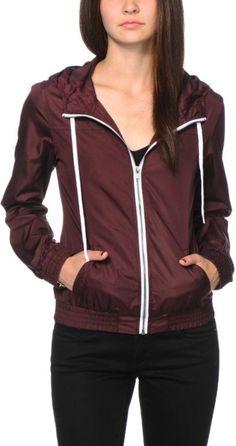 Zine Blackberry Windbreaker Jacket