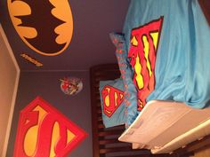 Superhero room! #superhero   #whereisyoungamerica