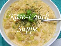 HCG-21-Tage-Diät Käse-Lauch-Suppe - Das HCG-Phase-2-Rezept-Kochbuch