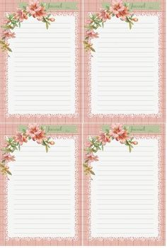 Displaying pink hibiscus journal cards by glenda s Printable Labels, Printable Paper, Free Printables, Printable Vintage, Journal Paper, Journal Cards, Junk Journal, Planner Pages, Planner Inserts
