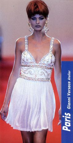 Gianni Versace Haute Couture Atelier Fall 1991