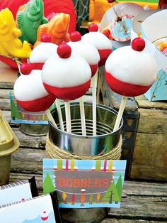 """A Reel Fun """"Gone Fishing"""" Birthday Party // Hostess with the Mostess®"""