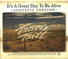 "4.2.12 (1/2) - Travis Tritt ""It's A Great Day To Be Alive"""