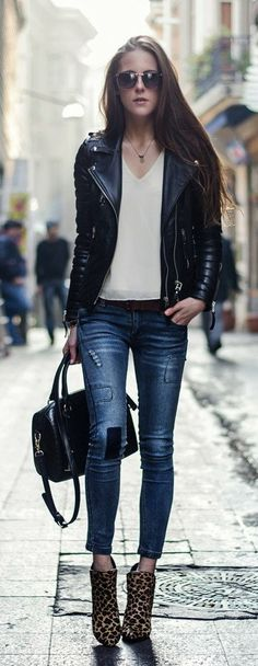 Jackets and jeans