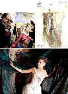Christian Lacroix costumes for La Source, Opera National De Paris. #Lacroix #ballet #costume #opera