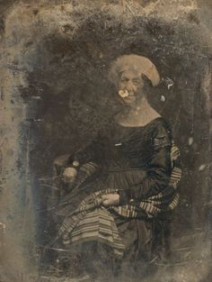 Daguerreotype portrait of Dolley Madison by Mathew Brady, 1848. She was the earliest former First Lady of the United States to be photographied...