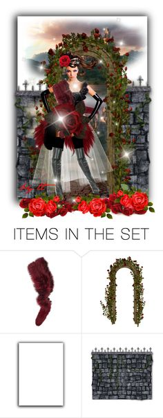 """""""Her Queendom For A Rose...by tt"""" by fowlerteetee ❤ liked on Polyvore featuring art"""