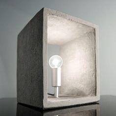 Tafellamp beton Santa Concreto