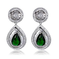Find More Drop Earrings Information about Earrings for women Water Drop Earring 925 Silver Pins 18k Gold Plated 244pcs White CZ Crystal Vintage Earrings Wedding Accessory,High Quality earrings french,China earring shell Suppliers, Cheap earring jackets for diamond studs from HY Fashion Jewelry on Aliexpress.com