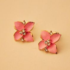 Women's Flower Ear Stud Earrings
