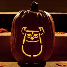 Sully Pumpkin Carving Template