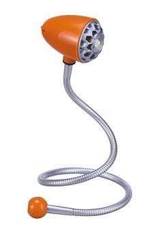 Wormy - LED svietidlo na pracovný stôl - oranžové