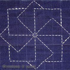 sashiko lesson 1 | Sarah's Hand Embroidery Tutorials