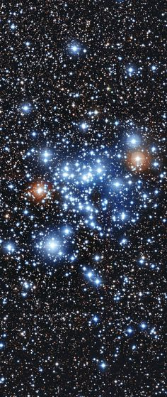 Veränderliche einmal anders: Helligkeitsschwankungen von 36 Sterne im Sternhaufen  NGC 3766 deuten auf eine neue Klasse hin. (Bild: ESO) http://www.pro-physik.de/details/news/4904021/Veraenderliche_einmal_anders.html