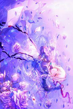 Our social Life Anime Galaxy, Galaxy Art, Anime Girl Cute, Anime Art Girl, Fantasy Women, Fantasy Art, Animes Wallpapers, Cute Wallpapers, Fantastic Wallpapers